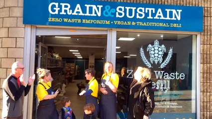 Grain and Sustain grand opening in Kirkcaldy