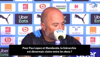 """Sampaoli : """"Mandanda redeviendra un pilier quand..."""""""