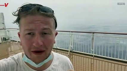 Must See! This is the Moment a Tornado Had a Close Call with a Mediterranean Cruise Ship