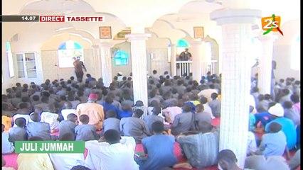 DIRECT PRIERE VENDREDI AU COMPLEXE KHALIFA ABABACAR GAYE DE TASSETTE