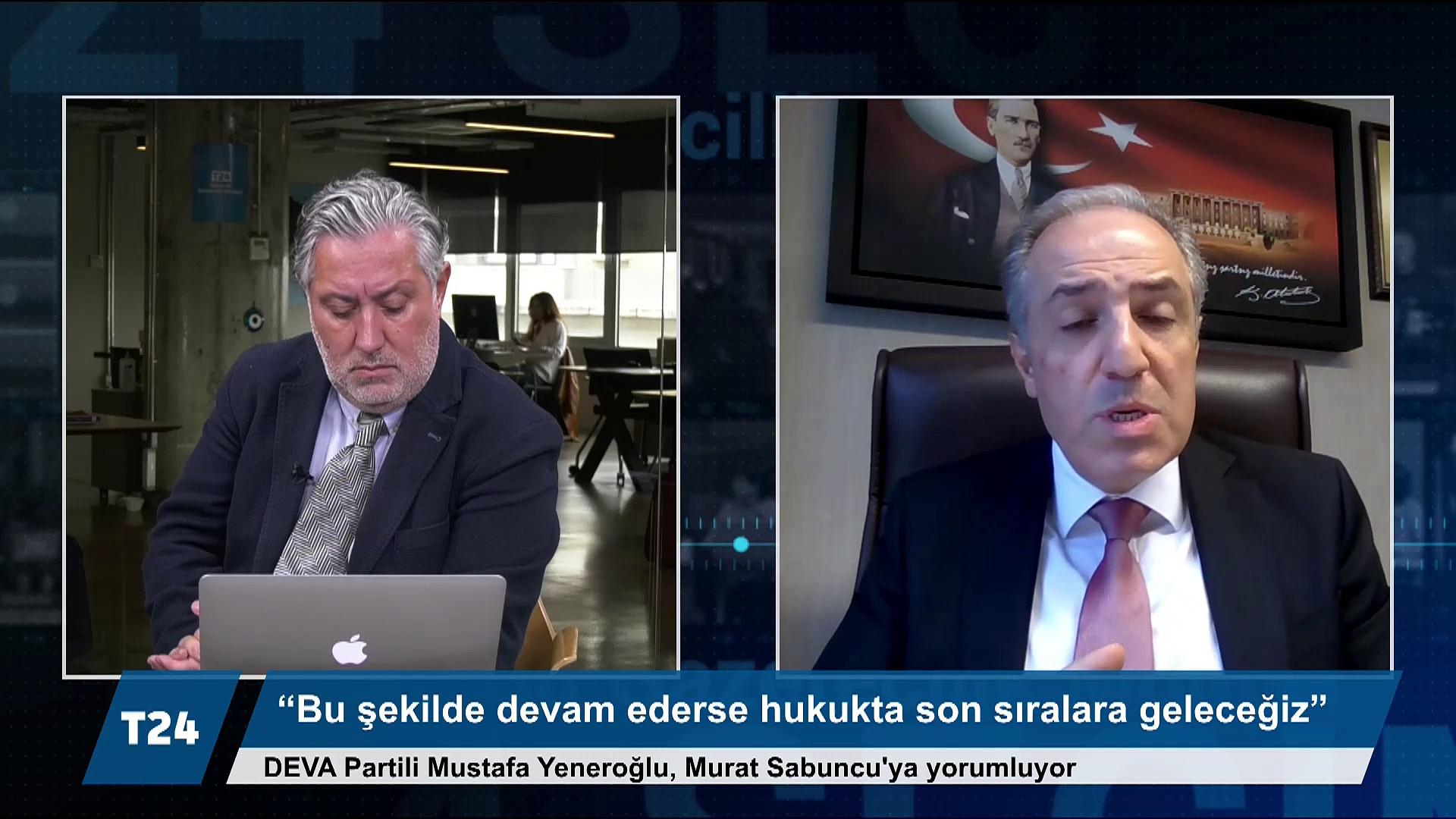 DEVA Partili Yeneroğlu: AKP milletvekili iken kayıpları sorduğum bir başsavcı, bana 'her devletin bir arka bahçesi olur' dedi