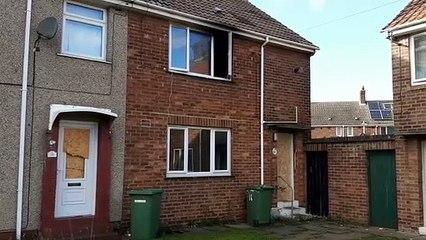 House fire on Lamberd Road, Hartlepool