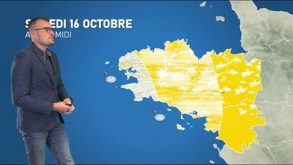 Illustration de l'actualité La météo de votre samedi 16 octobre 2021