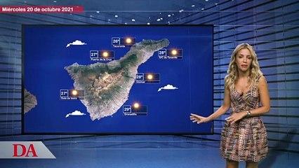 La previsión del tiempo en Canarias para este miércoles 20 de octubre