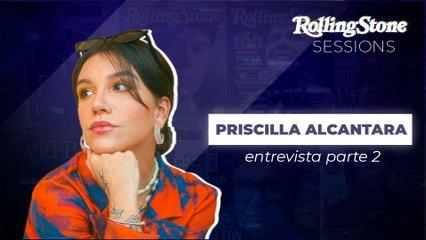 PRISCILLA ALCANTARA COMENTA TRAJETÓRIA DIFÍCIL NA CARREIRA MUSICAL: 'FALTA INCENTIVO E OPORTUNIDADE NO BRASIL'