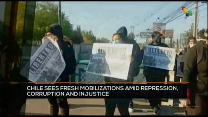 FTS 12:30 15-10: Chiles see fresh mobilizations amid repression, corruption and injustice