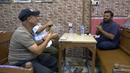 مقهى للصم والبكم وسط بغداد القديمة