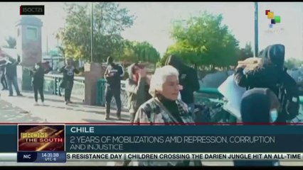 Chile commemorates two years of protests