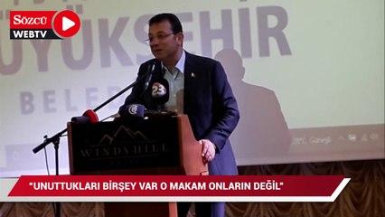 Vali ve AKP'li belediye başkanına İmamoğlu'ndan tepki!