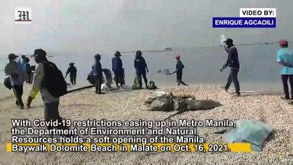 Manila's Dolomite Beach Opens