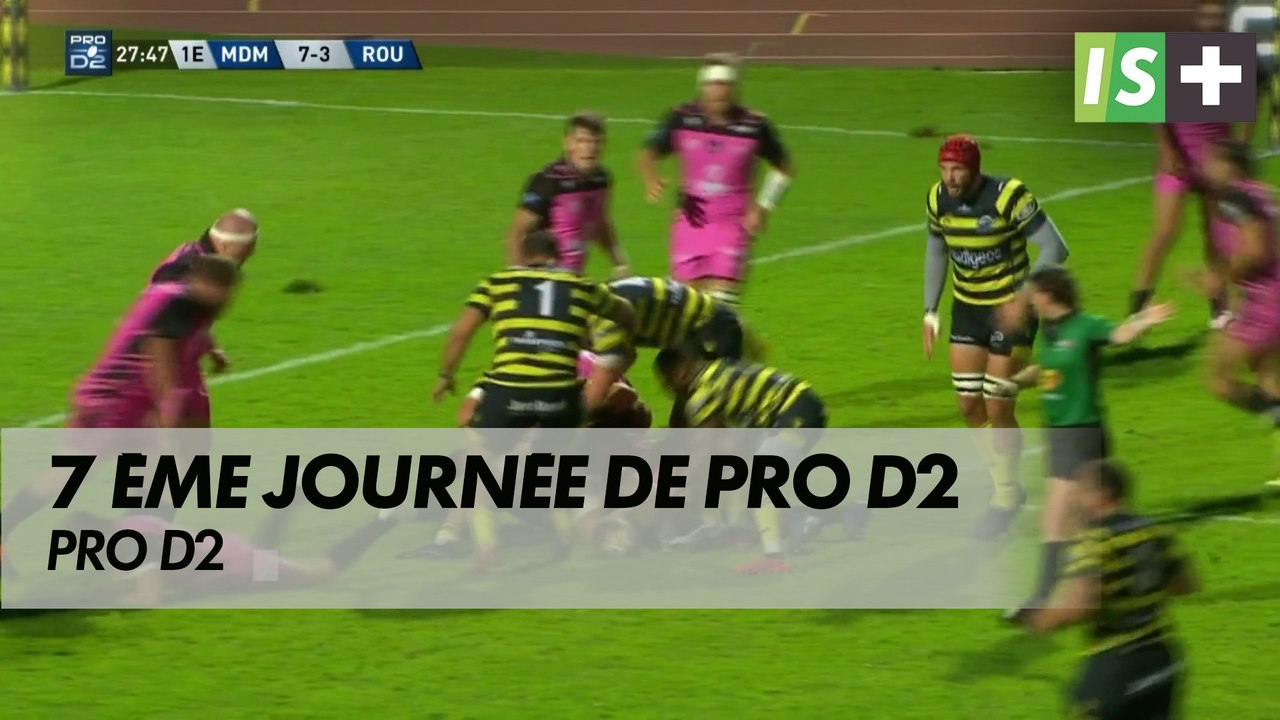Le stade Montois retrouve la 1ère place de <b>Pro D2</b> - Vidéo Dailymotion