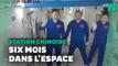 Le vaisseau chinois Shenzhou-13 s'est arrimé à la station spatiale