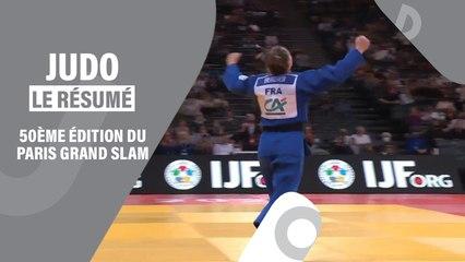 RÉSUMÉ DES FINALES DU PARIS GRAND SLAM (-48kg à -73kg)