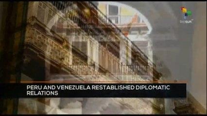 FTS 16:30 16-10: Peru and Venezuela reestablished diplomatic relations