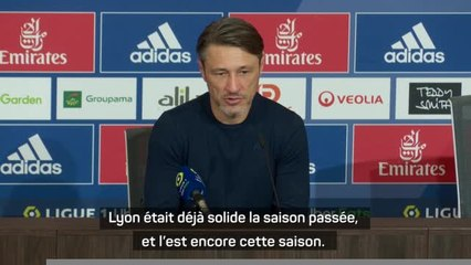 """10e j. - Kovac : """"La victoire de Lyon est méritée"""""""