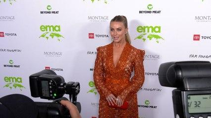 "Julianne Hough ""2021 EMA Awards Gala"" Green Carpet Fashion!"