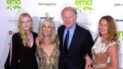 "Ed Begley Jr. with his family ""2021 EMA Awards Gala"" green carpet"