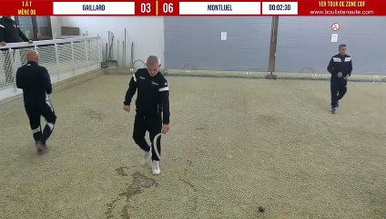 1er tour CDF 2021/2022 Gaillard vs Montluel avec WebTV - Individuels