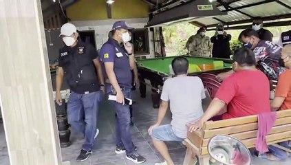 ผู้ว่าฯเมืองคอนตื่นสั่ง ฉก.ผู้ว่าฯลุยจับนักพนันมั่วสุมโต๊ะสนุ๊กเกอร์และจับพนันมวยตู้รวบ 26 เซียนพนัน