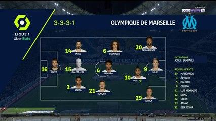 Alineaciones Marsella vs. Lorient