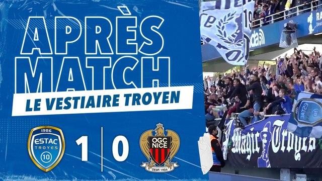 ESTAC 1-0 Nice   Coulisses d'après-match