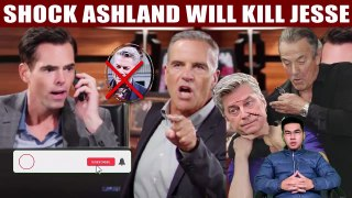 CBS Young And The Restless Victor and Ashland will destroy Jesse if Billy doesn't delete the video