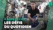La galère de Thomas Pesquet pour plier ses vêtements dans l'ISS