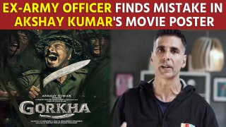 Ex-army officer finds mistake in Akshay Kumar's movie poster