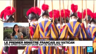 Jean Castex au Vatican :