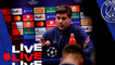 Conférence de presse de Mauricio Pochettino et Presnel Kimpembe avant Paris Saint-Germain v RB Leipzig