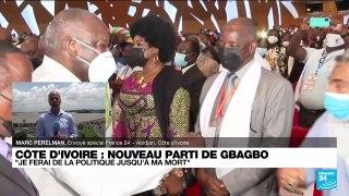 Laurent Gbagbo lance un nouveau parti :