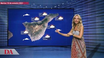 La previsión del tiempo en Canarias para este martes 19 de octubre