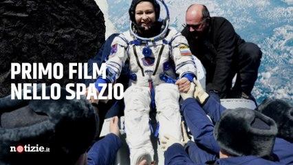 Il primo film girato nello spazio è della Russia: la troupe è rientrata sulla Terra