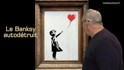 Le Banksy autodétruit vendu