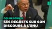 """Colin Powell et son discours à l'Onu, """"une tache"""" dans sa carrière"""
