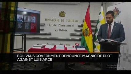 FTS 12:30 18-10: Bolivia´s government denounce magnicide plot against Luis Arce