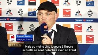 XV de France - Ibanez évoque les potentiels capitaines