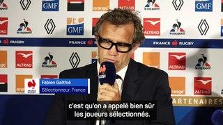 XV de France - Galthié :