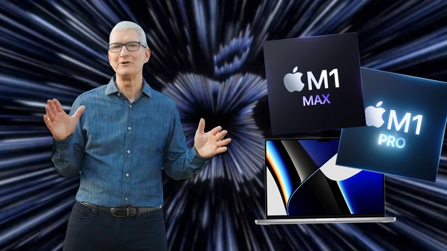 Les 3 choses à retenir de la conf' Apple (M1 Pro, M1 Pro Max, MacBook Pro, AirPods 3)