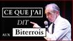 Eric Zemmour en conférence à Béziers