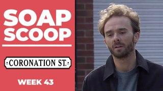 Coronation Street Soap Scoop! David faces a backlash