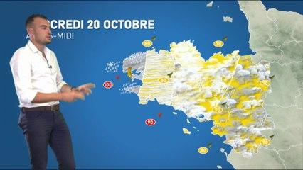 Illustration de l'actualité La météo de votre mercredi 20 octobre 2021