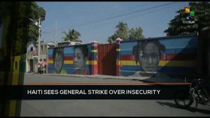 FTS 8:30 19-10: Haiti sees general strike over insecurity