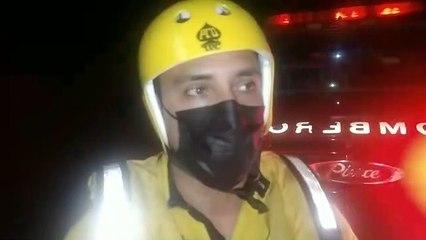 Turista estadounidense pone a correr a los cuerpos de rescate tras caer a poza