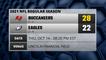 Buccaneers @ Eagles Game Recap for THU, OCT 14 - 08:20 PM EST
