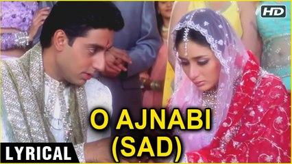 O Ajnabi - Lyrical Main Prem Ki Diwani Hoon Kareena And Abhishek Bachchan K.S. Chitra Hits