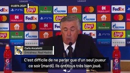 """Ancelotti : """"difficile de ne parler que d'un seul joueur"""""""