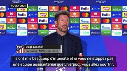 """Simeone : """"je ne peux pas être satisfait"""""""