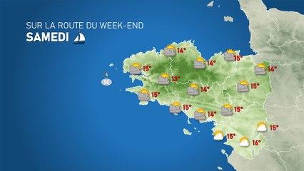 Illustration de l'actualité Sur la route du week-end: tendance météo pour les 23 et 24 octobre en Bretagne