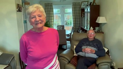 Rosemary and Dave Johnson are celebrating their diamond wedding anniversary on November 4
